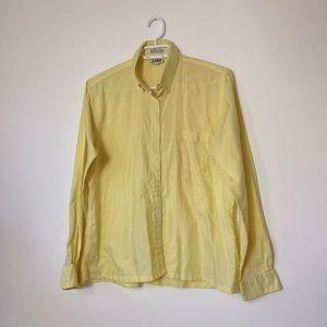 Vintage Yellow Blouse